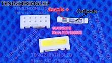 Для SAMSUNG светодиодный ЖК дисплей подсветка ТВ Приложение светодиодный подсветка Edge светодиодный серии 0,7 Вт 3 в 7032 холодный белый SVTE7032P