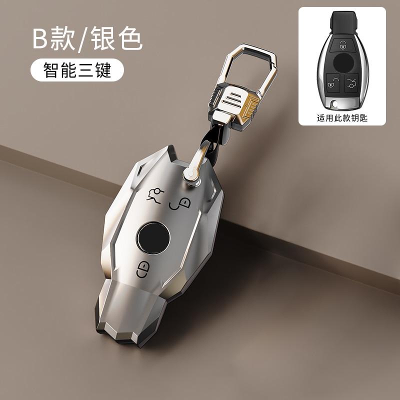 Soft Tpu Car Remote Key Shell Key Case Cover for Mercedes Benz C Class W205 E Class W212 A B S GLC GLA GLK Car Accessories