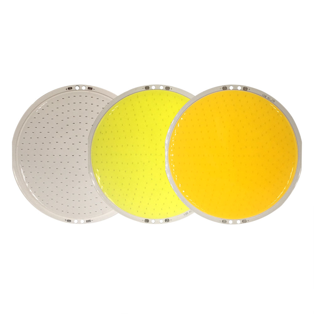 108mm Round Panel LED Lamp 12V DC COB Light 50W 6000LM With Remote Controller Dimmer 5.9in Diameter LED Bulb For Decor Lighting