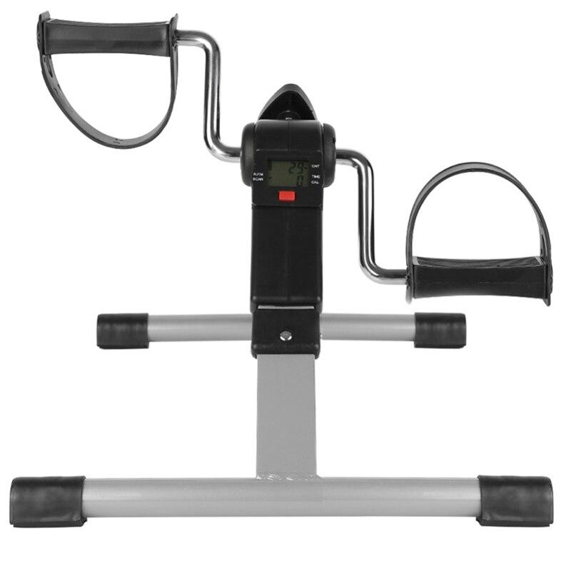 Exercice portatif de pédale de bras et de jambe de pliage avec l'affichage numérique d'affichage à cristaux liquides - 2