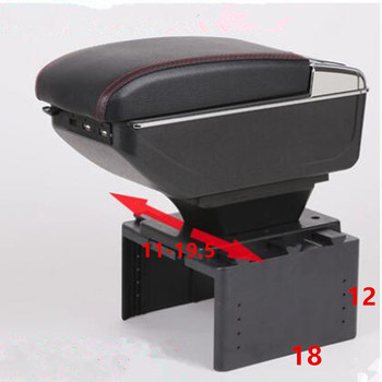 For VAZ LADA Niva Priora 2121 2123 2109 2108 21099 2110 2111 2112 2113 2114 2115 car armrest storage box cup holder styling