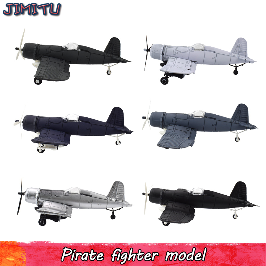 DIY Aircraft Assembled Model Toys For Children Building Blocks Military Handmade Fighter Model Kits Toy Gifts For Kits 1 PCS