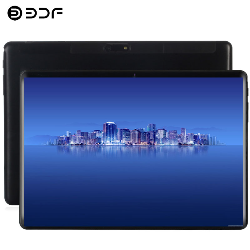 10.1 Inch Tablet PC Android 9.0 4G Phone Call Ten Core 8GB+128GB ROM Bluetooth Wi-FI 2.5D Steel Screen Tablet PC+Keyboard