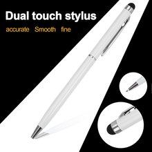 2 in 1 Multifunction Fine Point Round Thin Tip Touch Screen Pen Capacitive Stylus Pen For Smart Phone Tablet For iPad For iPhone 4pcs tablet stylus pen universal 2 in 1 capacitive touch screen pen with ball point pen for ipad for iphone for samsung huawei