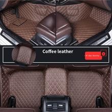Car-Floor-Mats Caddy Beetle Sedan Passat Volkswagen Polo Amarok Golf Touran Santana