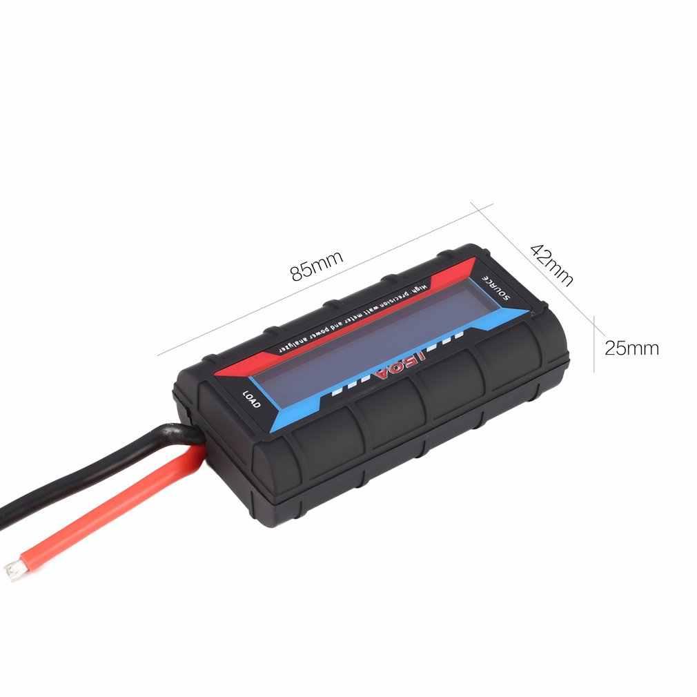 Testeur numérique d'analyseur de compteur d'énergie de courant de Watt de puissance de tension pour le chargeur de moteur de batterie de Drone de RC 60V 130A wattmètre ht