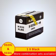 SZX do atramentu HP932XL do atramentu HP933XL wkłady atramentowe Officejet 7110 wkłady atramentowe Officejet 7610 wkłady atramentowe Officejet 7612 tanie tanio NoEnName_Null CN (pochodzenie) Pełna For HP 932xl 933xl ink cartridge Kompatybilny Wkład atramentowy HP Inkjet For HP932XL For HP933XL
