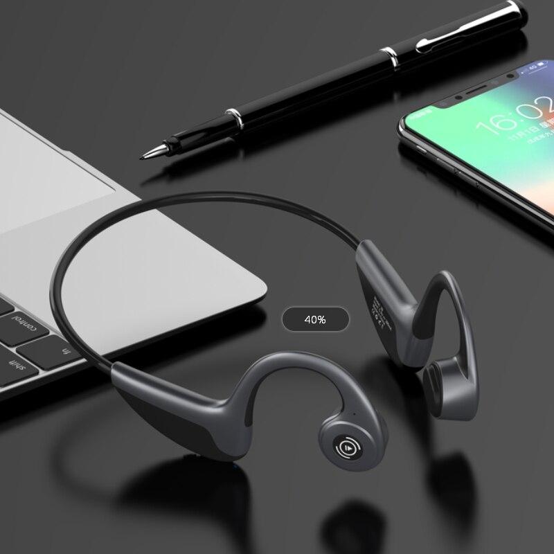 Z8 Беспроводные наушники с костной проводимостью, Bluetooth 5,0, умные наушники, спортивные наушники, гарнитура с микрофоном