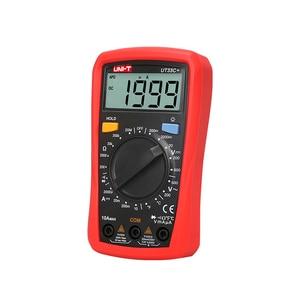 Image 2 - UNI T Digital Display Multimeter Palm Size Backlight UT33A+ Multimeter LCD AC DC +2mF Capacitance LCD High Precision Tester