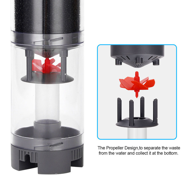 Ultra-Silent Aquarium Filter Water Pump 4