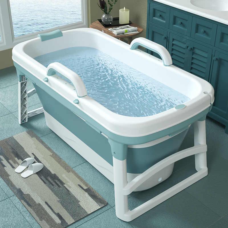 Adult Faltbare Aufblasbare Blowup SPA Badewanne Badezimmer Barrel Wasserwanne