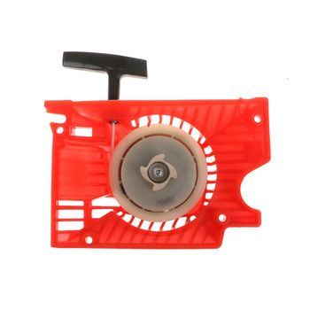 цена на Lawn Mower Single Recoil Pull Start Starter For Chinese Chainsaw 4500 5200 5800