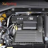 좌석 용 Ateca Leon FR Toledo 1.4T EA211 엔진 보호 커버 보닛 캡 04E103925H 04E103932D 자동차 액세서리 스타일링
