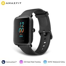 Amazfit Bip S Smartwatch In Lager Globale 5ATM Wasserdichte Gebaut-In GPS GLONASS Bluetooth Smart Uhr für Android iOS telefon