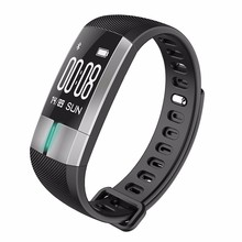 G20 Smart bracelet Call reminder pedometer Blood Pressure Heart rate monitoring Fitness Tracker Waterproof Color Wristband