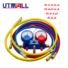 新車空調a/c冷媒R134A R22 R404a R410 バルブコアクイック除去インストーラ 3000PSI 1.5 メートル充電ホース