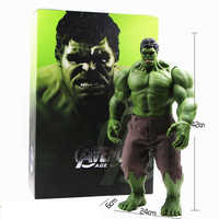 Hot Avengers Incredible Hulk Iron Man Hulk Buster Hulkbuster 42cm zabawki z Pvc figurka Hulk Smash Model wyrobów gotowych