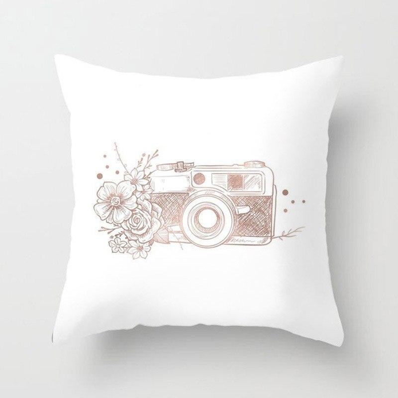 H9f13921388a14009bd8b1c6cc2d483187 New 1PC Popular Cushion Case Geometric Tropic Pineapple Nordic Sofa Pink Pillow Decorative