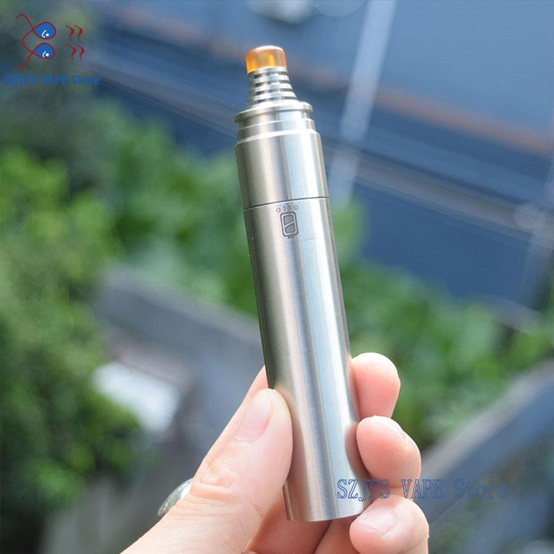 SXK Atto Styled Mech Mod With BerserkeV1.1 Dual Chip 316ss 18650 18350 Mini Mechanical Mod 22mm For RDA RTA E Cigarette Vape Mod
