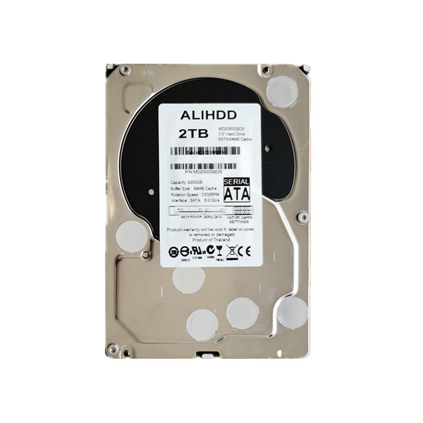 <font><b>2000GB</b></font> SATA 3.5inch 7200RPM 64MB Cache Enterprise Grade Security CCTV Hard Drive Warranty for 1-year image