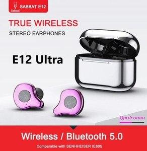 Image 2 - Sabbat E12 Ultra Bluetooth 5.0 TWS אלחוטי אוזניות טעינת תיבת מיני נייד Invisible אוזניות עמיד למים סטריאו TWS PK X12
