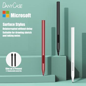 Rysik pióro dotykowe dla Surface Pro 5 6 Tablet dotykowy pióro dotykowe dla Microsoft Surface Go Stylus inteligentne pióro akcesoria do powierzchni Book2 tanie i dobre opinie DANYCASE CN (pochodzenie) Pojemnościowy ekran Inne marki Tabletki Laptopy For Microsoft Surface Z tworzywa sztucznego Microsoft Surface 3