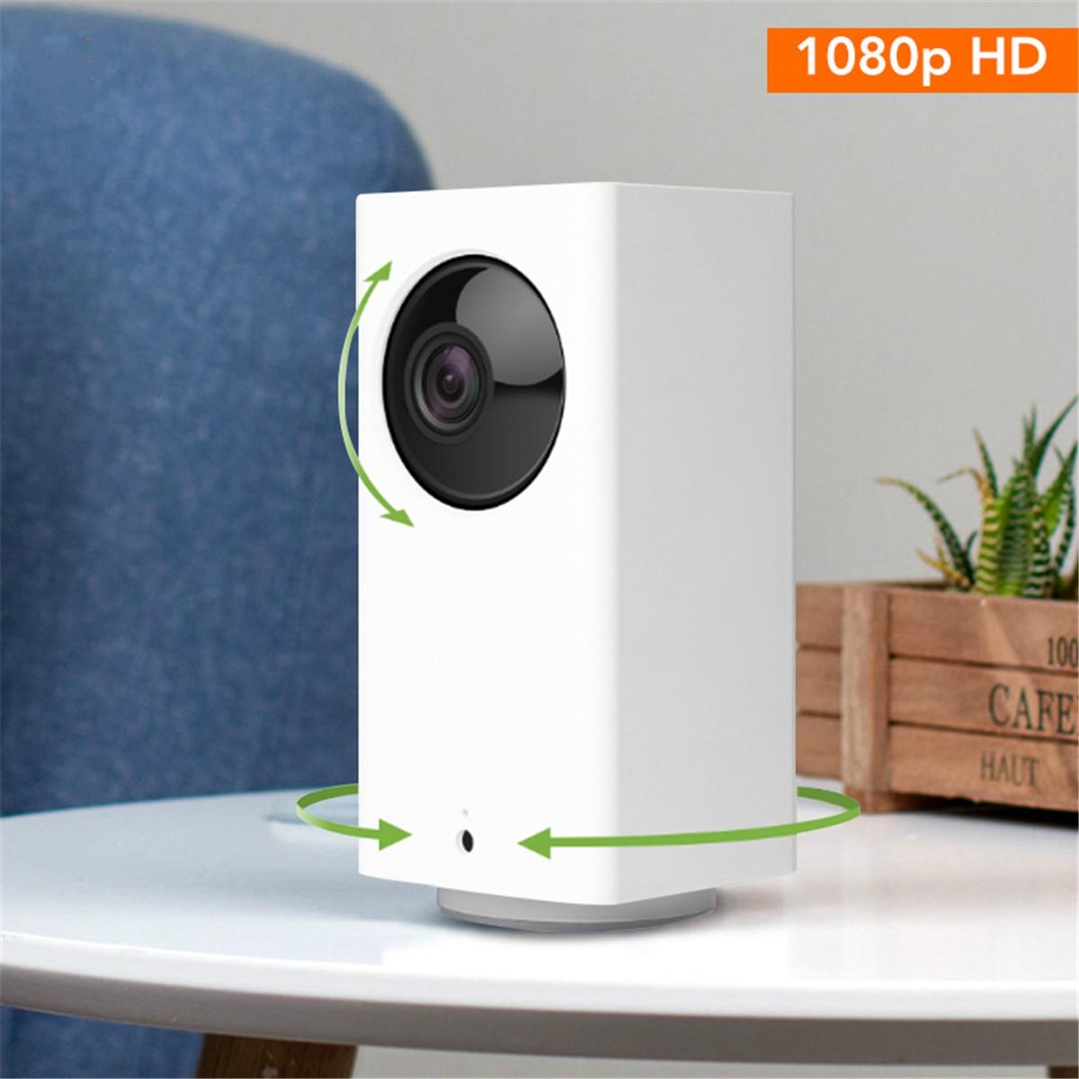 Tüketici Elektroniği'ten 360 ° Video Kamera'de Xiaomi Mijia YOUPIN DAFANG 1080p akıllı kamera IP kamera WIFI akıllı monitör HD akıllı gece görüş ev ofis Video kameralar title=