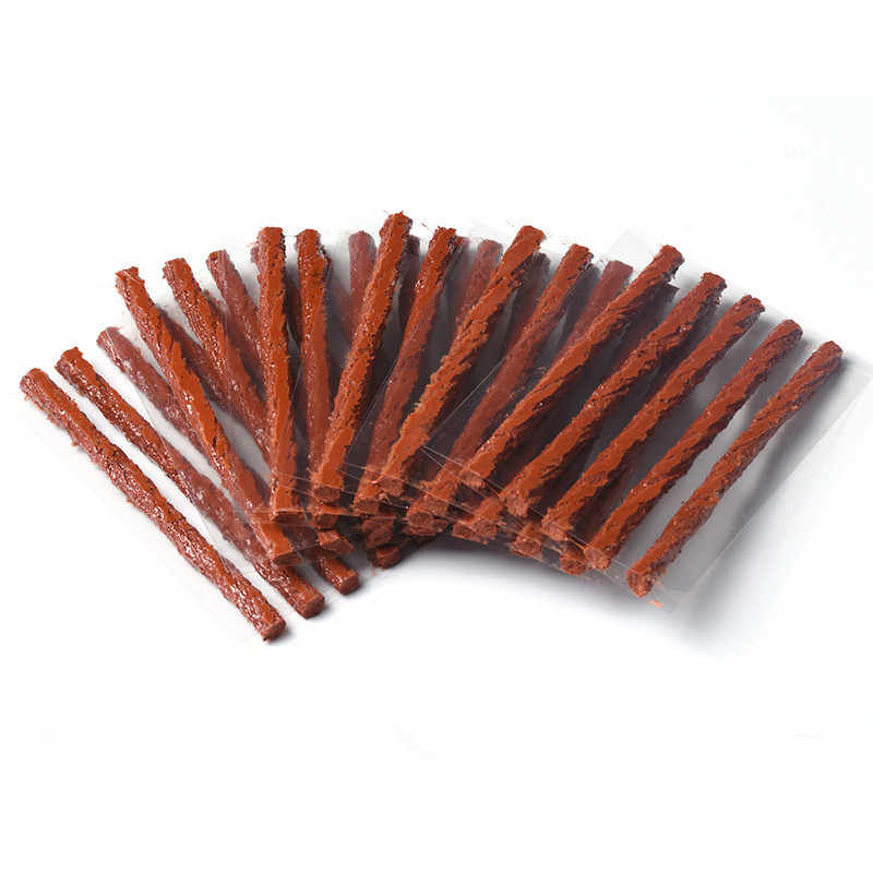10pcs Tubeless Tire Repair Tools For Tyre Puncture Emergency Off road travel Car Motorcycle Tyre Repair Rubber Strip Tire seal
