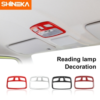 Molduras de Interior SHINEKA para Suzuki Jimny, lámpara de techo coche, molduras de Marcos, luz de lectura, decoración, cubierta para Suzuki Jimny 2019 +