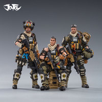 1/18 JOYTOY Action Figure HELL SKULL PARATROOPER SQUAD Collectible Toy Military model Christmas gift for men
