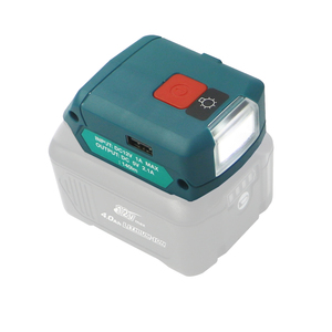 Image 3 - li ion battery charger USB adpator with work light Multifunction DC10WD for Makita BL1015 BL1040B BL1015 BL1016 BL1021B BL1040B