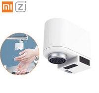 Оригинальный Xiaomi Mijia ZAJIA Автоматический Инфракрасный датчик индукции водосберегающее умное домашнее устройство для кухни ванной кран для р...