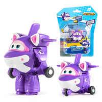 Neue Saison 7 Mini Super Flügel Verformung Mini Flugzeug ABS Roboter spielzeug Action-figuren Super Flügel Krystal/Bucky Transformation spielzeug