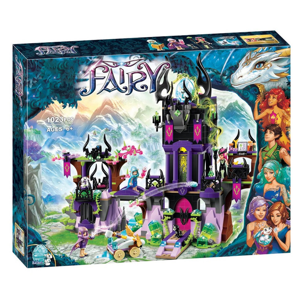 Compatible <font><b>Legoinglys</b></font> Elves <font><b>41180</b></font> Building Blocks 1023Pcs Toys for Children Friends Bricks Model Grils Ragana's Magic Shadow image