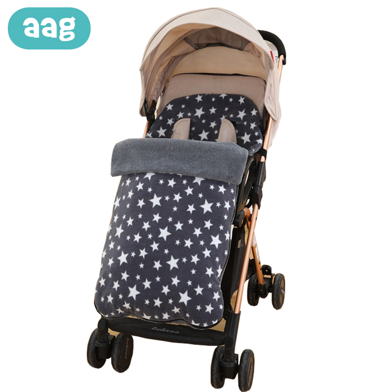AAG Baby Winter Envelope for Discharge Baby Sleeping Bag Sack Swaddle Newborns Diaper Cocoon in Stroller Accessories Footmuff