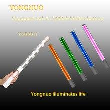 Yongnuo yn360 yn360 ii handheld vara gelo bateria led luz de vídeo 3200k a 5500k rgb cor controlada pelo aplicativo