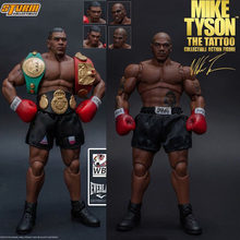 3 cabeça rosto tempestade brinquedos boxeador campeão mike tyson final redondo mike tyson figura de ação collectible modelo brinquedo