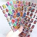 5 шт./лот цифровой 3D пузырчатые наклейки для детей подарок детям номер наклейки игрушки вечерние поставки Свадебные украшения