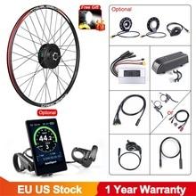 Bafang 48V 500W передний ступичный узел бесщеточный вентилятор постоянного тока Бесщеточный Шестерни велосипедный комплект для переоборудовани...