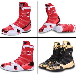 Boxing Shoes Fighting-Sneakers Training Professional Protect Muay-Fist Free-Combat Ankles