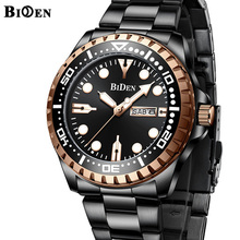 Top Brand BIDEN Business Mens Watch Retro Classic Design Jap