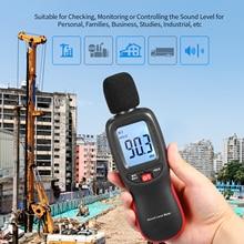 Цифровой измеритель уровня шума, измеритель уровня звука 30-130дб, измеритель уровня шума