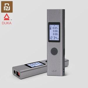 Image 1 - Youpinデュカレーザー距離計40メートルLS P高精度測定距離計レーザー距離計ポータブルusbフラッシュ充電