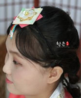 South Korea Imported Hairband Rope Ancient Asian Hair Accessories Stage Headdress Latest Girls Hair Accessories Headbands