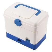 цены Large Family First Aid Kit Medicine Medical Storage Box Medical Drug Storage Storage Box Storage Box