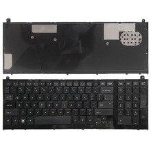 """ארה""""ב מקלדת חדשה עבור HP probook 4520 4520S 4525S 4525 שחור אנגלית מקלדת מחשב נייד עם מסגרת"""