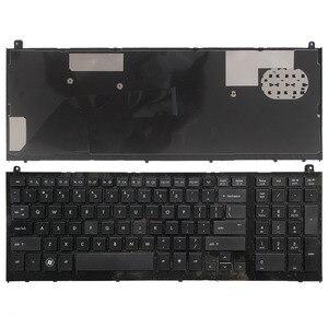 "Image 1 - ארה""ב מקלדת חדשה עבור HP probook 4520 4520S 4525S 4525 שחור אנגלית מקלדת מחשב נייד עם מסגרת"