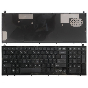 Image 1 - US New keyboard For HP probook 4520 4520S 4525S 4525 Black English Laptop Keyboard with Frame