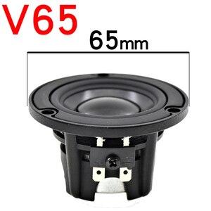 Image 2 - HIFIDIY Aluminum basin Hi Fi 2 3 3.5 inch 65mm Full frequency speaker unit 4OHM 20W High Alto bass loudspeaker V65/85/95mm