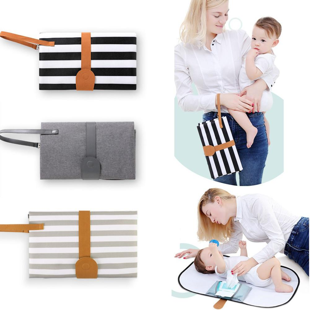 Kidlove Multifunction Portable Baby Diaper Changing Mat Travel Hanging Nappy Bag